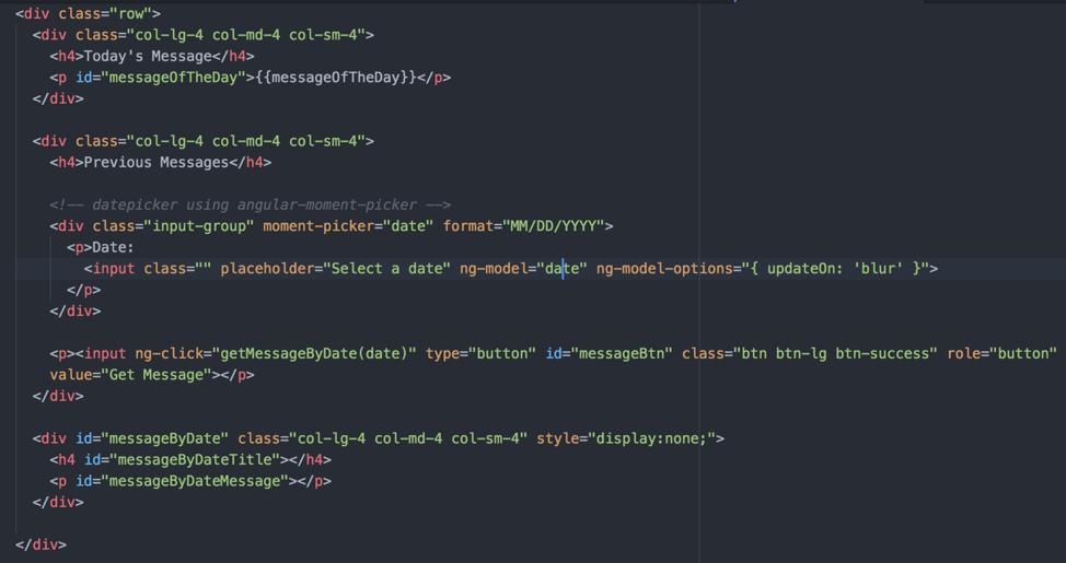How to Start an AngularJS Application