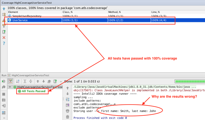 High Code Coverage Means You Have Quality Tests, Right? Wrong!